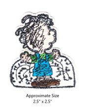 Pig-Pen Peanuts Character Embroidered Iron and/or Sew-On Patch