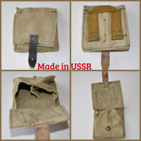 USSR Hand Grenades Pouch Pineapple Ammo Bag Two Cells Original Soviet Surplus