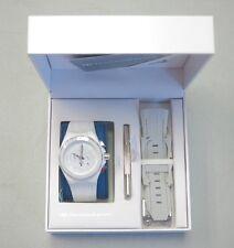 TechnoMarine Watch Cruise White Vision All White Silicon Strap 113014 NEW! 29443
