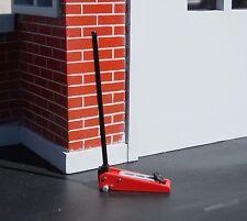 2 Ton Hydraulic Jack Diecast Miniature 1/24 Scale G Scale Diorama Accessory
