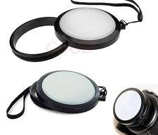 Mennon 77mm White balance lens cap WB with leash for dslr Camera lens