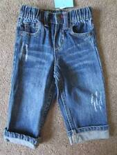 New Girls or Boys Amy Coe Cuffed Distressed Jeans Sz. 12 Months
