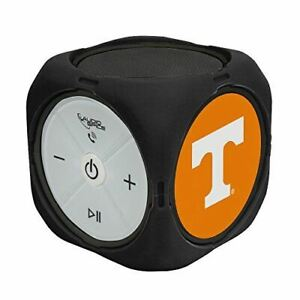 AudioSpice NCAA Tennessee Volunteers MX-300 Cubio Bluetooth Speaker, Black, One