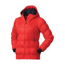 Columbia Mujer Chaqueta de Abrigo de Esquí de estación de Chelsea-Rojo/Mediano
