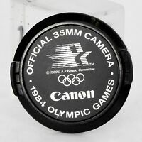 Canon 52mm Lens Cap Official 1984 Olympic Games 35mm Camera