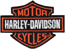 Harley Davidson Biker Patch / Badge (+FREE HEAT IRON - no sewing involved)