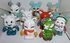 """Disney Cutesters Snow Day Series #6 - 3"""" Vinylmation (Set of 9) Chaser/Variant"""