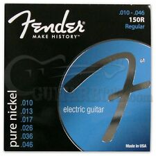 Fender 150R Pure Nickel Electric Guitar Strings Regular 10-46