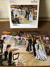 """""""Elegant"""" Wentworth Wooden Jigsaw Puzzle - """"The Ball on the Ship"""" - 300 Pcs Comp"""