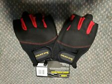 Gold's Gym Weight Lifting Leather Gloves