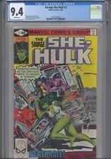 The Savage She Hulk #2 CGC 9.4 1980 Marvel John Buscema Cover: New Frame