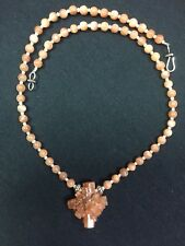 Aragonite & Sunstone Necklace