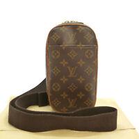 Authentic LOUIS VUITTON Pochette Gange Shoulder Bag Monogram M51870 #S311106