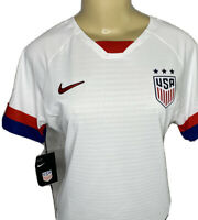 Nike Team USA Jersey Soccer Vaporknit USWNT Match Authentic White Sz S L NWT$165