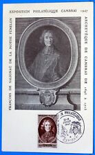 FENELON 1947 CAMBRAI   Yt 785  Carte Postale Maximum