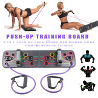 Push Up Rack Board mit Resistance Band Umfassendes Sport Fitness Training Tool
