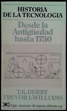 History of technology-age up to 1750-England Book Century 1977