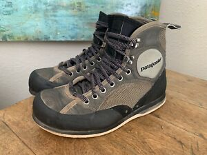 Patagonia Men's Wading Boots Felt Sole Fly Fishing Gray Size 8