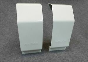 HAYDON baseboard Heater cover end caps SET of 2 LEFT & Right WHITE New