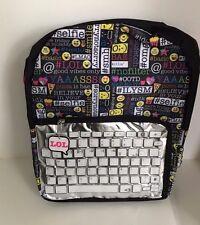 Emoji backpack Emojination Keyboard LOL Backpack Standard Size