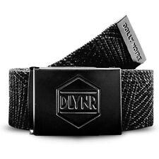 Dolly Noire Total Black Belt Cintura Uomo BL02 Black