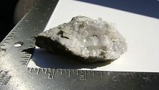 "2"" X 3 1/2"" Quartz & Calcite Cluster on Matrix - LaFarge Quarries, Ravena, NY"
