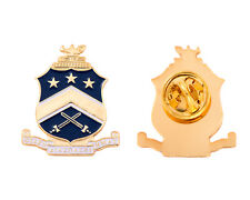 Pi Kappa Phi Gold Color Crest Lapel Pin Pi Kapp
