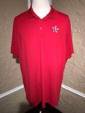 2014 NBA All Star New Orleans Polo Golf STAFF Shirt Adidas Puremotion 2XL XXL