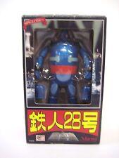 Blue Tetsujin 28 Chogokin by Marmit metal diecast robot NEW
