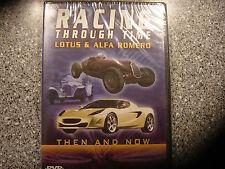 Racing Through Time - Lotus & Alpha Romeo (DVD, 2003)