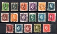 New Zealand KGV used collection Cat Val £225+ (odd fault) WS19005