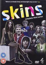 SKINS - Series 3 (UK Drama Series) 3 Discs!!! Jack O'Connell (Unbroken)