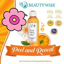 3X Bottle Beauty Wise Orange Peeling Lotion ORIGINAL🇬🇧🇵🇭