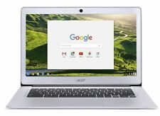 """Acer Chromebook 14""""  (32GB, Intel Celeron N, 2.24GHz, 4GB) Silver  #CB3431C5FM"""
