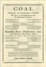 1928 Sensible Heat Distillation Ltd, York Mansion Petty France