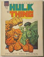 HULK vs THE THING : THE BIG CHANGE / 1987 / MARVEL English 6.0 FINE +