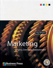 Marketing: Origins, Concepts and Environment, Wright, Very Good