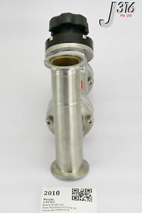 2010 APPLIED MATERIALS VALVE MNL ANGLE IN-LINE 2.75CF 1.5OD POR 3870-02286