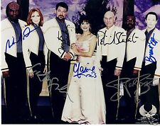 Star Trek The Next Generation Autograph Signed PP Photo Poster