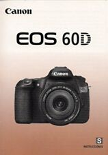 CANON EOS 60D DIGITAL CAMERA OWNERS INSTRUCTION MANUAL -SPANISH TEXT-from 2010