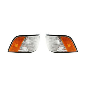 NEW PAIR OF SIDE MARKER LIGHTS FITS BUICK CENTURY 1991-1995 5976094 GM2550123
