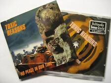 """Toxic Reasons """"no peace in our time"""" - CD-incl. 1 Multimedia Track"""