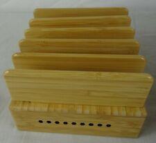 Station de charge en Bamboo - Model : YS-0101303