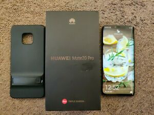 Huawei Mate 20 Pro LYA-L0 Black Unlocked and boxed