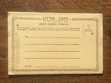 Set 6 B/W Gravure Photographs Postcard Letter Card Kents Cavern Torquay Devon