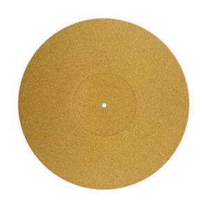 TURNTABLE MAT PREMIUM PORTUGUESE CORK UPGRADE 3mm TURNTABLE RECORD PLAYER