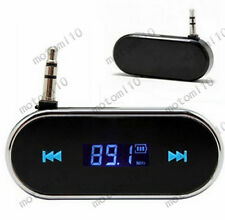 3.5mm Car Home HiFi Stereo Audio Music FM Transmitter for Mobile Phone Tablet Mo
