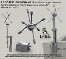 Live Resin 35236 1/35 Boomerang III Anti-Sniper/Gunfire Detection Systems (1)