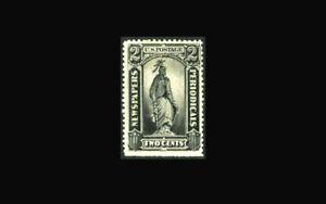 USA Newspaper Stamp-Mint OG&H, VF S#PR9 SE, hinge remnant