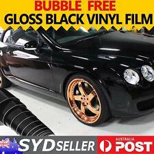 1.51M x 20M 4x4 4WD Vinyl Film Wrap Sheet Van Roof Hood Paint Shield Gloss Black